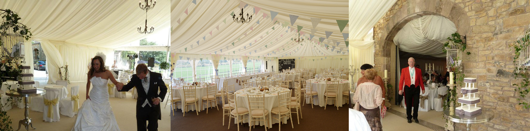 Wedding marquee hire nationwide marquee hire for Indoor marquee decoration